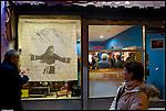Installazione di Giampiero Soffietti al B.A.R.L.U.I.G.I. di via Brandizzo a Torino.