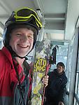 John Kieffer on the Ciampac Tram, Canazei, Italy
