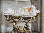 Imagine Della Madonna Bambina, Parish S Martino Vescovo, the colorful village of Burano, Italy.