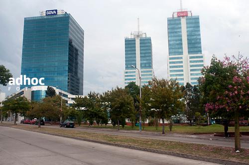 Edificio World Trade Center, Buceo, Montevideo, 18/02/2011..©RICARDO ANTUNEZ.MONTEVIDEO, URUGUAY..2011
