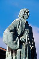 Portugal, Madeira, Denkmal von Joao G. Zarco, dem Entdecker Madeiras in Funchal