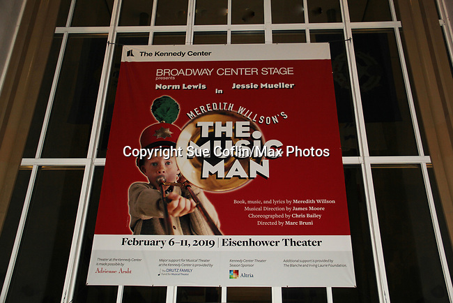 All My Children's Norm Lewis and Rosie O'Donnell star in the musical <br />  The Music Man along with Jessie Mueller and Veanne Cox at the Eisenhower Theater at the  John F. Kennedy Center for the Performing Arts, Washington D.C. in a sold out run and photos were taken on February 10, 2019 in the green room.  (Photo by Sue Coflin/Max Photo)