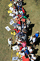 MIGUEL JIMENEZ of the European Team sign golf memorabilia for fans on wednesday practice prior to the 37th Ryder Cup Matches, September 16 -21, 2008 played at Valhalla Golf Club, Louisville, Kentucky, USA ( Picture by Phil Inglis ).... ......