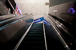 The escalator to a nearly vacant Terminal A at Hartsfield–Jackson Atlanta International Airport, in Atlanta, Georgia on August 28, 2013.