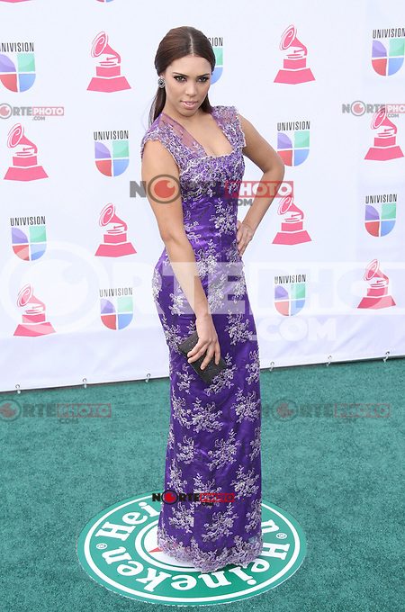Zoila Ceballos Arrives at XIII Latin Grammy Awards at Mandalay Bay Resort & Casino in Las Vegas, Nevada on November 15, 2012.Copyright Felix Gonzalez / iPhotoLive.com /NortePhoto