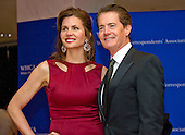 Kyle MacLachlan, right, and Desiree Gruber arrive for the 2016 White House Correspondents Association Annual Dinner at the Washington Hilton Hotel on Saturday, April 30, 2016.<br /> Credit: Ron Sachs / CNP<br /> (RESTRICTION: NO New York or New Jersey Newspapers or newspapers within a 75 mile radius of New York City)
