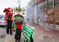 Chinese New Year, Chinatown, Seattle, WA, USA.