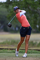 Azahara Munoz (ESP) watches her tee shot on 5 during round 3 of the 2019 US Women's Open, Charleston Country Club, Charleston, South Carolina,  USA. 6/1/2019.<br /> Picture: Golffile | Ken Murray<br /> <br /> All photo usage must carry mandatory copyright credit (© Golffile | Ken Murray)