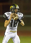 Torrance, CA 09/19/15 - Daniel Schubert (Peninsula #18) in action during the Peninsula Panthers - Torrance Tartars Varsity football game at Torrance High School