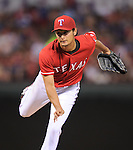 Yu Darvish (Rangers),<br /> JUNE 6, 2014 - MLB :<br /> Yu Darvish of the Texas Rangers pitches during the Major League Baseball game against the Cleveland Indians at Globe Life Park in Arlington in Arlington, Texas, United States. (Photo by AFLO)
