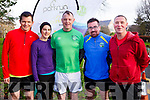 Attending the Tralee ParkRun on New Years Day, l-r,  <br /> Catherine O&rsquo;Halloran, Anthony O&rsquo;Halloran, Majella Cahill, Nora O&rsquo;Connor and John Joe O&rsquo;Connor.