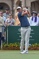 Brooks Koepka (USA) watches his tee shot on 1 during round 3 of The Players Championship, TPC Sawgrass, at Ponte Vedra, Florida, USA. 5/12/2018.<br /> Picture: Golffile | Ken Murray<br /> <br /> <br /> All photo usage must carry mandatory copyright credit (&copy; Golffile | Ken Murray)