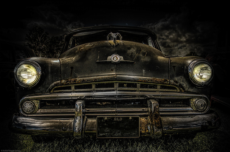 Classic car from the 1960's