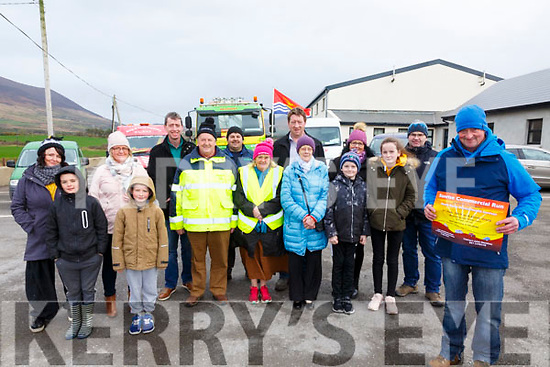 A Sunrise Commercial Run will take place from Foilmore Community Centre on Sunday morning Feb 3rd starting at 6:45am with all money raised going to support the South Kerry Mental Health Services, pictured here front John Sheehan, middle l-r; Tadhg Gavan, Peadar Gavan, Michael Egan, Anne Egan, Eileen Sheehan, Oisin Devereux, Aoibhinn Devereux, back l-r; Julia Clarke, Mary Lucey Sheehan, Michéal Fogarty, Ger Egan, Padriag Fogarty, Trish & Trevor Devereux.