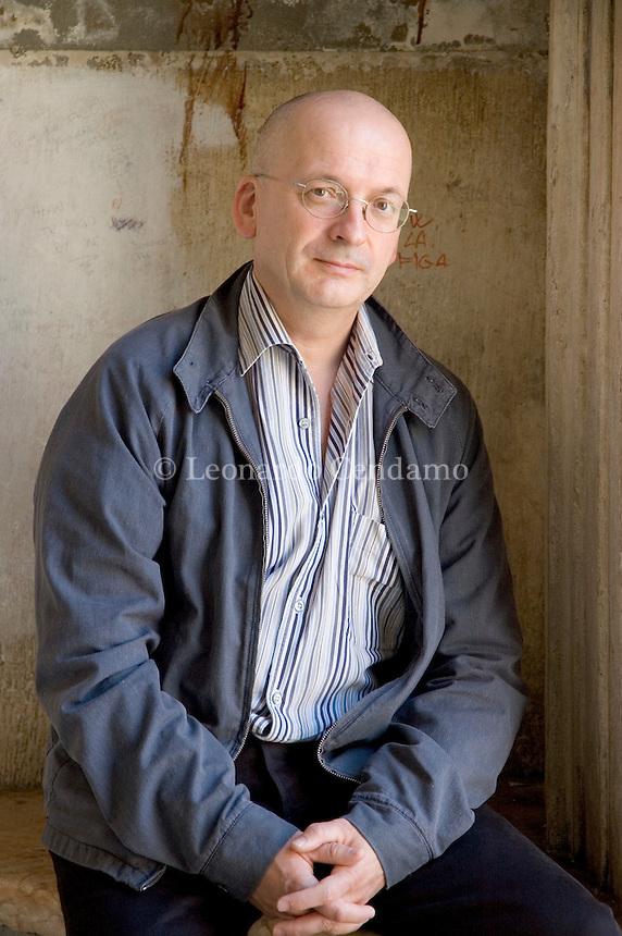 Mantova, Italy, 2005. Roddy Doyle, Irish writer and screenwriter.