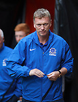 Everton manager Davie Moyes