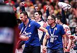18.01.2020., Austria, Vienna, Wiener Stadthalle - European Handball Championship, Group I, Round 2, Croatia - Germany. Croatia celebrate <br /> <br /> Foto © nordphoto / Luka Stanzl/PIXSELL