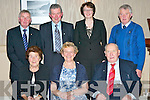 Enjoying the Kerry Pioneers social in the Killarney Heights Hotel on Friday night front row l-r: Mary O'donoghue, Teresa O'Sullivan, Michael Fleming. Back row: Jerry O'Donoghue, Paddy O'Sullivan, Margaret and John Griffin..