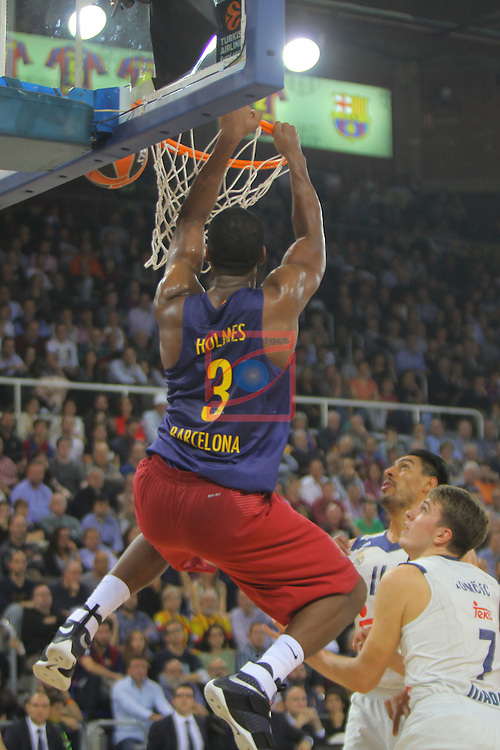 Turkish Airlines Euroleague 2016/2017.<br /> Regular Season - Round 8.<br /> FC Barcelona Lassa vs R. Madrid: 63-102.<br /> Jonathan Holmes.