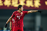 Shanghai FC Forward Elkeson De Oliveira Cardoso gestures during the AFC Champions League 2017 Group F match between Shanghai SIPG FC (CHN) vs Western Sydney Wanderers (AUS) at the Shanghai Stadium on 28 February 2017 in Shanghai, China. Photo by Marcio Rodrigo Machado / Power Sport Images