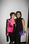 As The World Turns Colleen Zenk poses with Tracie Thoms, nominee, (Bandwagon, Rent Stick Fly) After the show  - We Love Soaps presents The 3rd Annual Indie Soap Awards on February 21, 2012 at the New World Stages, New York City, New York.  (Photo by Sue Coflin/Max Photos)