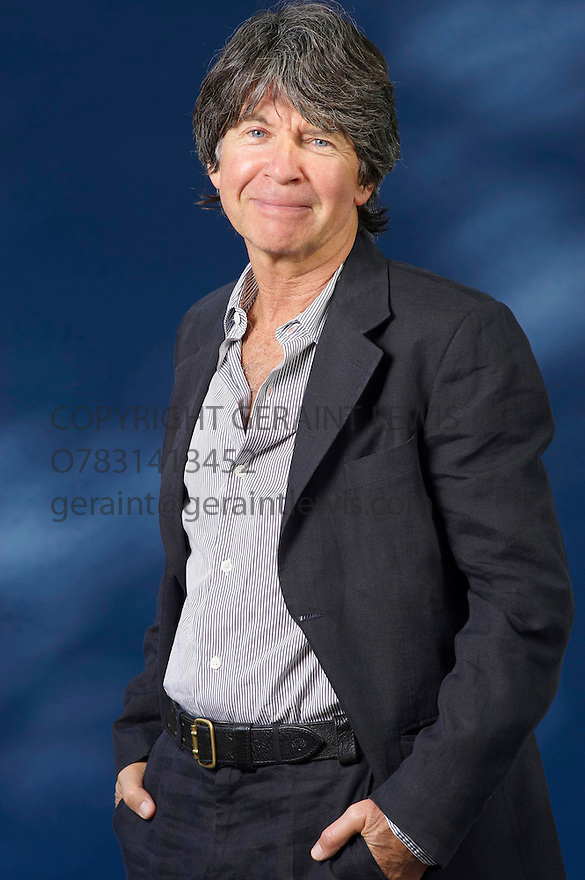 Anthony Browne,Children's Laureate and author    at The Edinburgh International  Book Festival 2010 .CREDIT Geraint Lewis