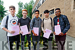 Happy with their first paper of the leaving cert English, are students of CBS the Green,Tralee, Liam O;Brien,Michael O'Donnell,Shagaib mahmaod,Thomas Aryls and Alexander Flynn