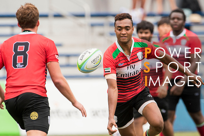The match between South Korea and United Arab Emirates of the Asia Rugby U20 Sevens Series 2016 on 12 August 2016 at the King's Park, in Hong Kong, China. Photo by Marcio Machado / Power Sport Images
