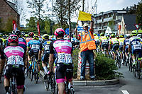 signaleur<br /> <br /> Heistse Pijl 2020<br /> One Day Race: Heist-op-den-Berg > Heist-op-den-Berg 190km  (UCI 1.1)<br /> ©kramon