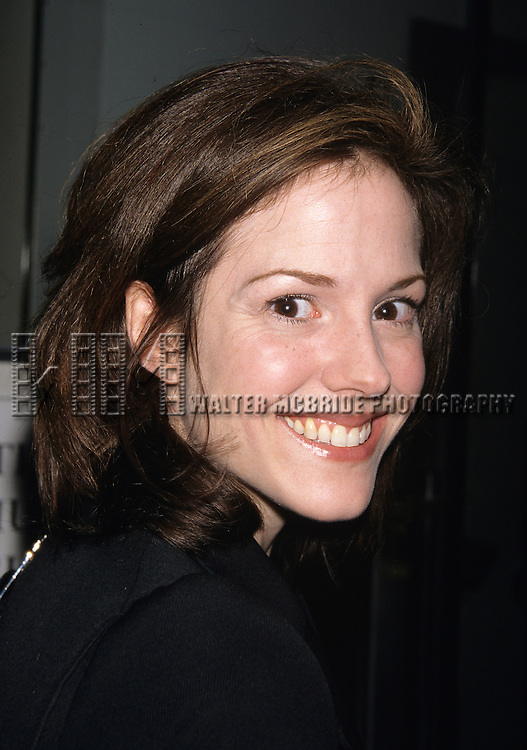 "Mary Louise Parker pictured at ""By George"" - a benefit tribute to George S. Kaufman in New York City on June 22, 1998."
