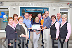 40TH BIRTHDAY: The staff of Abbeyfeale Credit Union celebrating 40 years in service on Saturday l-r: Margaret Collins, Agnes Wrenn, Norma Glesson, Martin Lyons (treasurer), Michelle Doody, Mary O'Sullivan, Dick Fitzgibbon, Nora O'Connor, John Collins, Kim Heffernan, Ciaran Fitzgibbon and Norma O'Connor (manager).