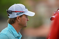 Kevin Kisner (USA) is interviewed after winning his match over Alex Noren (SWE) in a playoff during day 5 of the World Golf Championships, Dell Match Play, Austin Country Club, Austin, Texas. 3/25/2018.<br /> Picture: Golffile | Ken Murray<br /> <br /> <br /> All photo usage must carry mandatory copyright credit (© Golffile | Ken Murray)