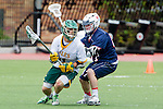 Orange, CA 05/16/15 - Marcus Hughes (Concordia #31) and Connor Clancy (Dayton #47) in action during the 2015 MCLA Division II Championship game between Dayton and Concordia, at Chapman University in Orange, California.
