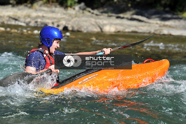 NZ Secondary School Boater Extreme on the Buller River 2012,  5 April 2012, Murchison, New Zealand<br /> Photo: Barry Whitnall/shuttersport.co.nz
