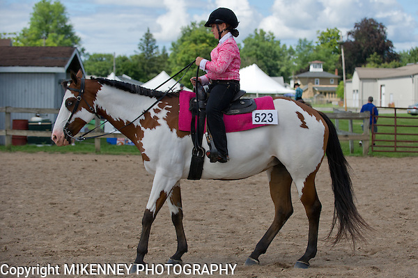 Triple C Horse Show, August 2013 at Wayne County Fairgrounds, Palmyra NY