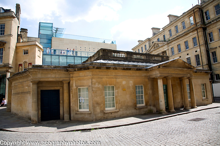 Part of the Thermae spa complex, Bath, England