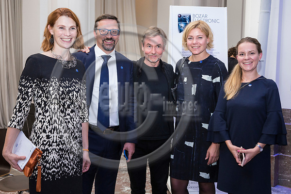 BRUSSELS - BELGIUM - 27 September 2017 -- Finland 100th Anniversary Reception and Concert of the Philharmonia Orchestra of London at the BOZAR. -- Esa-Pekka Salonen, Conductor of the Philharmonia Orchestra of London. (MEP Henna VIRKKUNEN) -- PHOTO: Juha ROININEN / EUP-IMAGES