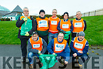 Volunteers at the major big clean up of the Tralee Bay area on Thursday morning. Kneeling l to r: Cian Long (AIB), Tony Sheehan (AIB) and Cathal Hardiman.<br /> Back l to r: Paul Burke (AIB), Pat Kennington, Fergus Courtney, Evelyn Murphy and David Brooks.