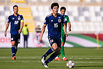 Tomiyasu Takehiro of Japan in action during the AFC Asian Cup UAE 2019 Group F match between Japan (JPN) and Turkmenistan (TKM) at Al Nahyan Stadium on 09 January 2019 in Abu Dhabi, United Arab Emirates. Photo by Marcio Rodrigo Machado / Power Sport Images