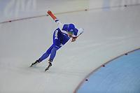 SCHAATSEN: GRONINGEN: Sportcentrum Kardinge, 18-01-2015, KPN NK Sprint, Letitia de Jong, ©foto Martin de Jong