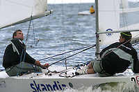 20th SPA Regatta - Medemblik.26-30 May 2004..Copyright free image for editorial use. Please credit Peter Bentley..Iain Percy - GBR