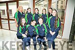 Basketball team at the International Children's Games Press Night at the Rose Hotel on Friday. Pictured Front Katelyn Crowe, Rachel Ryan, Ciara Ryan, Shelley Clifford, Back l-r Carmelita Ryan, Coach, Lyselle O'Shea,  Millie Luck, Linda Raymond, Coach