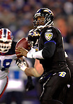31 December 2006: Baltimore Ravens quarterback Steve McNair (9) in action during a game against the Buffalo Bills at M&T Bank Stadium in Baltimore, Maryland. The Ravens defeated the Bills 19-7. Mandatory Photo Credit: Ed Wolfstein Photo.<br />