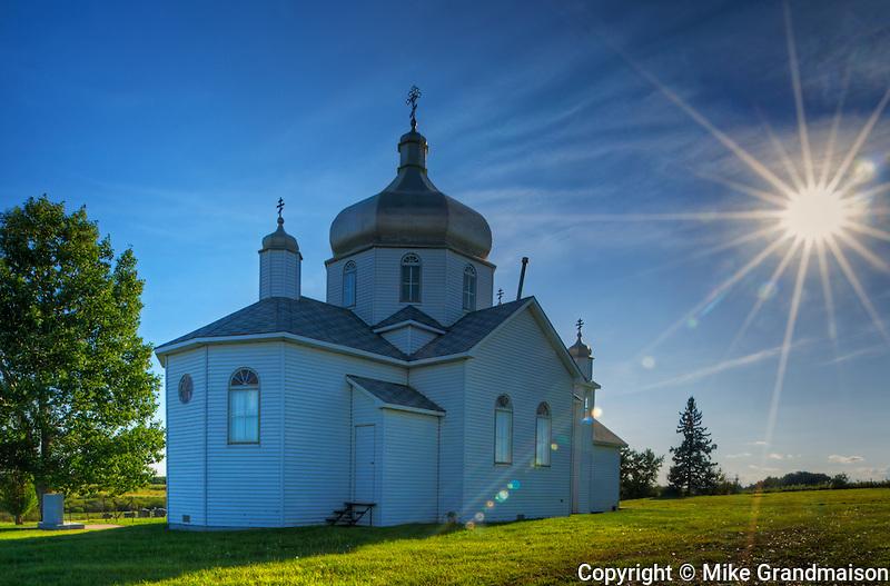 St. John The Baptist Russo-Greek Catholic Orthodox Church<br /> Farus<br /> Alberta<br /> Canada