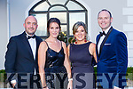 Denis and Catriona Doolan, Cliona and James O'Donnell Killarney at the Kerry Garda ball in the Killarney Oaks Hotel on Friday night