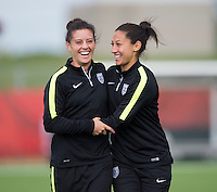 USWNT Training, June 3, 2015