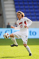 Brock Granger (17) of the Louisville Cardinals. The Louisville Cardinals defeated the Providence Friars 3-2 in penalty kicks after playing to a 1-1 tie during the finals of the Big East Men's Soccer Championship at Red Bull Arena in Harrison, NJ, on November 14, 2010.
