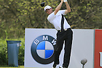 Michael Hoey tees off on the 18th hole during his round on Day 2 of The BMW International Open Munich at Eichenried Golf Club, 25th June 2010 (Photo by Eoin Clarke/GOLFFILE).