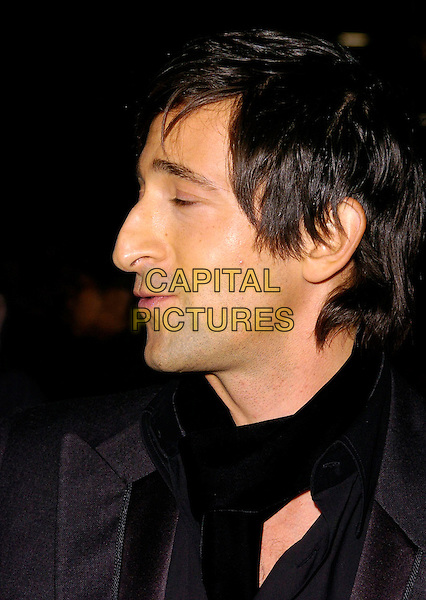 "ADRIEN BRODY.At The Times BFI London Film Festival Gala Screening of ""Hollywoodland"", held at Odeon West End, London, England, October 30th 2006..portrait headshot profile.Ref: CAN.www.capitalpictures.com.sales@capitalpictures.com.©Can Nguyen/Capital Pictures"