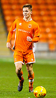 Blackpool's Will McGladdery<br /> <br /> Photographer Alex Dodd/CameraSport<br /> <br /> The FA Youth Cup Third Round - Blackpool U18 v Derby County U18 - Tuesday 4th December 2018 - Bloomfield Road - Blackpool<br />  <br /> World Copyright &copy; 2018 CameraSport. All rights reserved. 43 Linden Ave. Countesthorpe. Leicester. England. LE8 5PG - Tel: +44 (0) 116 277 4147 - admin@camerasport.com - www.camerasport.com